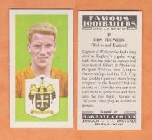 Wolverhampton Wanderers Ron Flowers England 31